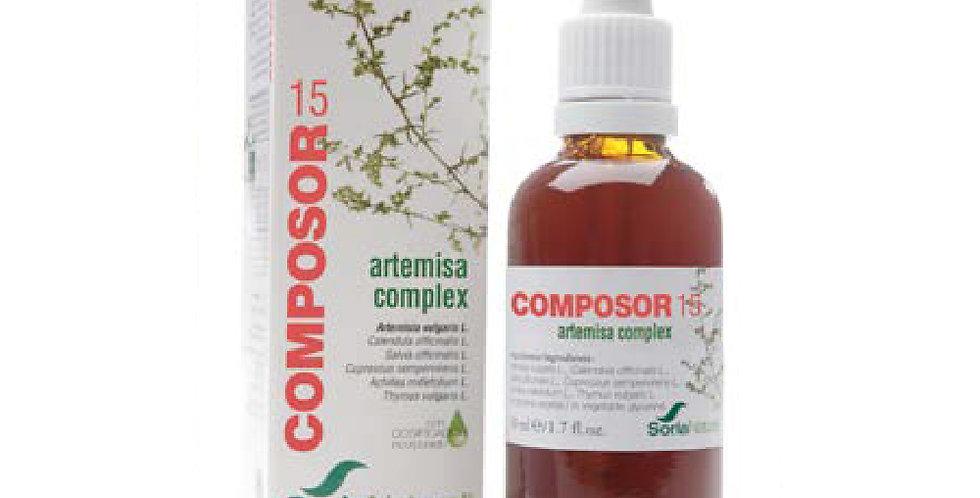 地中海柏木洋蓍草複合配方 Composor 15 Artemisa Complex F.XXI