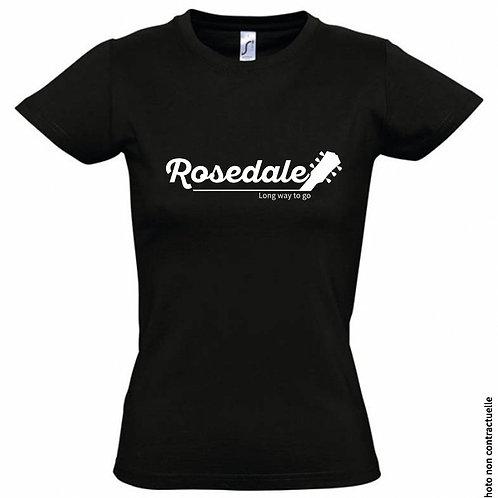 "T-Shirt Femme - ""Rosedale - Long Way To Go"" - Officiel"