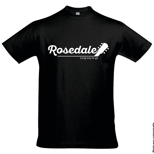 """T-Shirt Homme - """"Rosedale - Long Way To Go"""" - Officiel"""