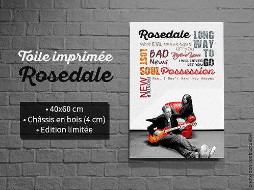 "Toile imprimée ""Rosedale"""