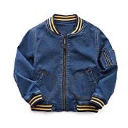 Boys' 'Beaming' Blue Jean Jacket