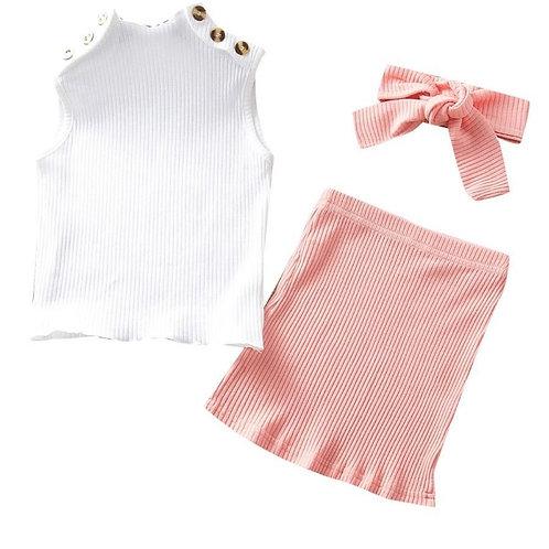 Girls' 'Pretty in Pink' Set