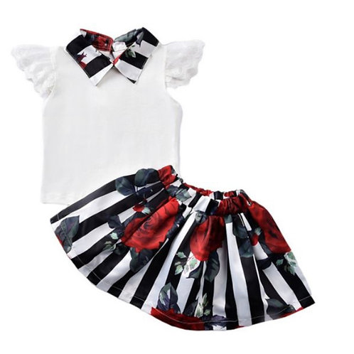 Girls' 'Successful' Skirt Set