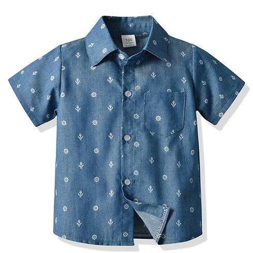 Boys' 'Ambitious' Anchor Shirt