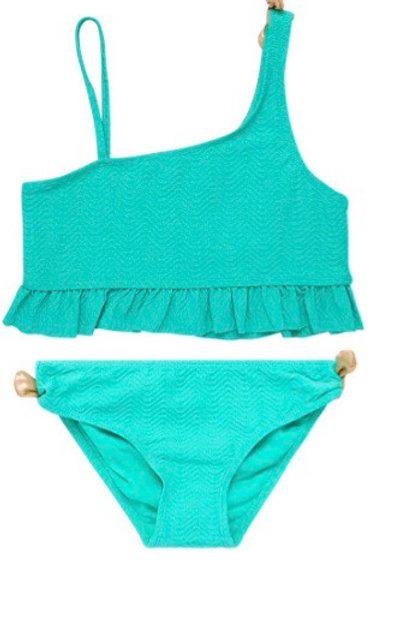Girls' Teal Swimsuit