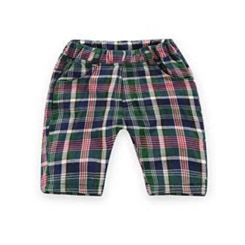 Boys' 'Polished' Plaid Shorts