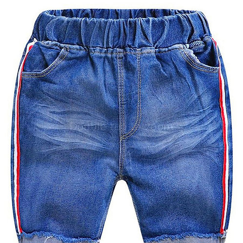 Boys' 'Brave' Blue Jean Shorts
