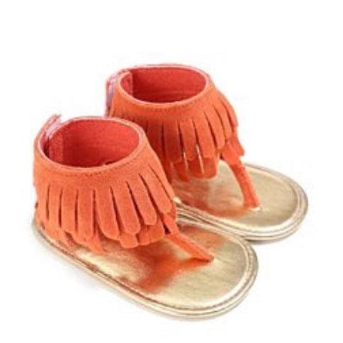 Baby Girls' 'Orange Sherbert' Sandals