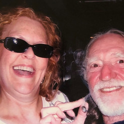 Mary Jane and Willie Nelson