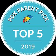 PDX Parent Pick 2019 Top 5
