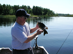A catch on Pocomoonshine Lake