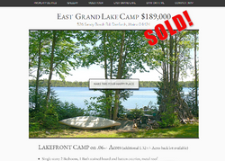 East Grand Lake Camp for sale