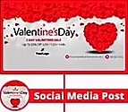 Social Cover Designed for Valentine's Day