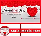 Social Cover Designed for Valentine's Day