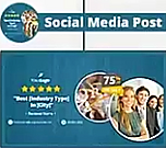 Social Cover to Highight a 5-Star Review