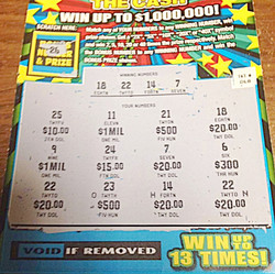 Winning Scratch Ticket