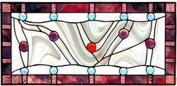 00058-Stained Glass Abstract Baubles