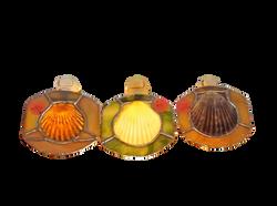 Seashell nightlights