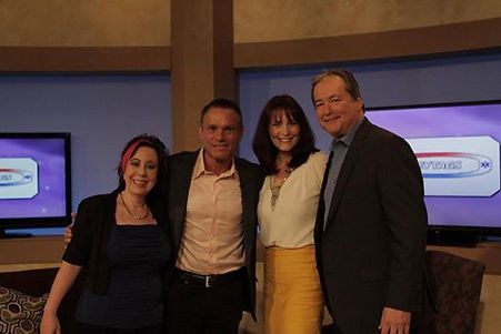 Laura Betterly, Kevin Harrington, Vonabell Sherman and Tom Force