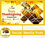 Thanksgiving Themed Social Cover