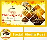 Thanksgiving Themed Social Cover