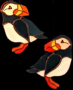 00001-Atlantic Puffins
