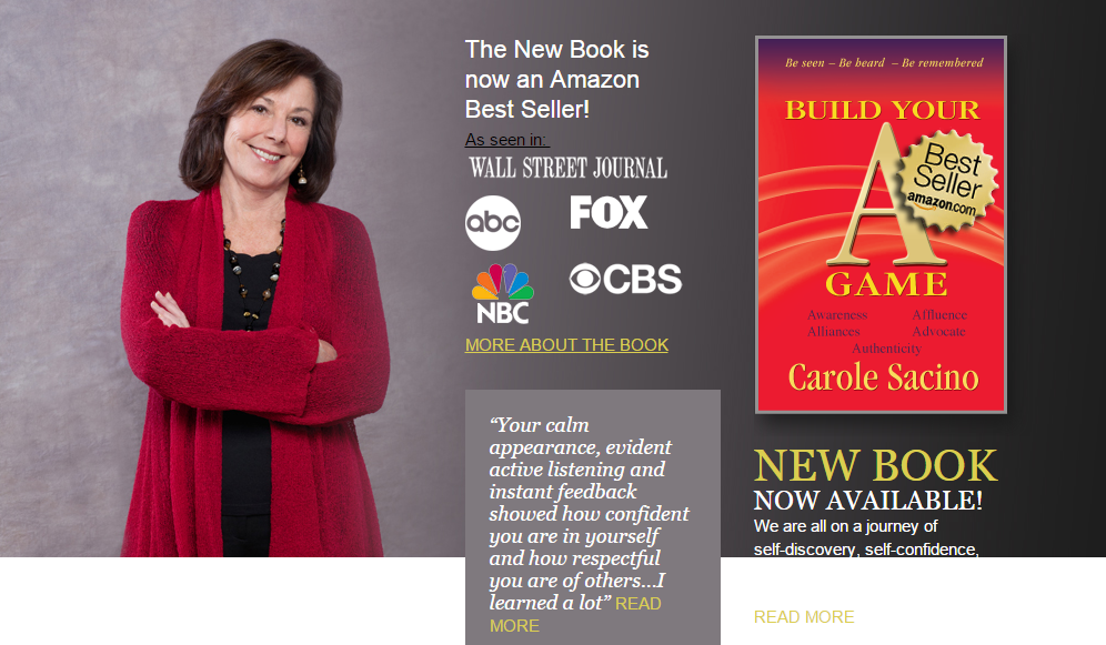 Best-selling Author Carol Sacino