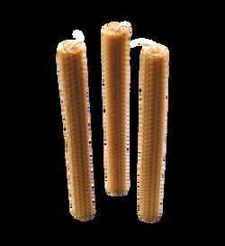 Natural Beeswax Honeycomb Candle