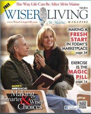 Wiser Living in Maine Magazine