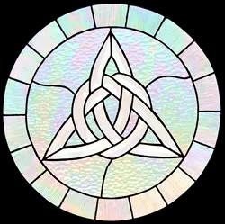 00047-Celtic Bevel and Irridescient Triad