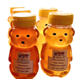 Honey Bear Squeeze Bottles