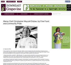 Interview with celebrity chef
