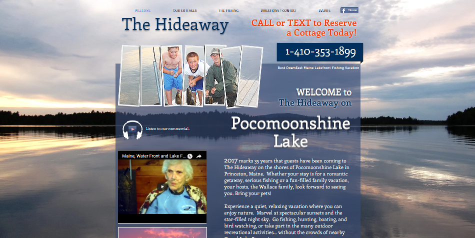 The Hideaway on Pocomoonshine Lake