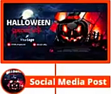 Halloween Themed Social Cover