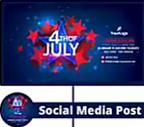 Independence Day themed Social Media Cover