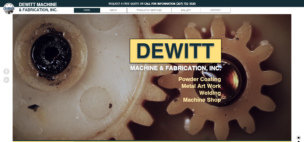 DeWitt Machine & Fabrication