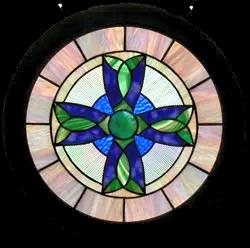 00059-Celtic Cross with Hardwood Frame