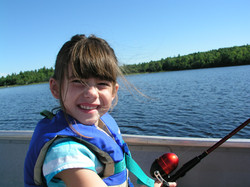 Fishing on Pocomoonshine Lake