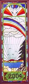 Wrenovations custom church window by Mark Wren