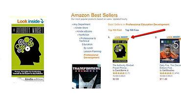 The Authority Mindset #1 Best Seller on Amazon
