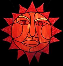 00023-Aztec Sun God