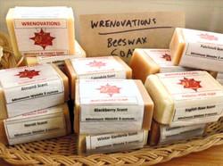 Wrenovations Beeswax Soap