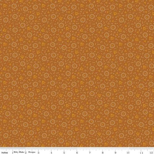 Bountiful Autumn Burst Orange - C10852-ORANGE - by Stacy West for Riley Blake De