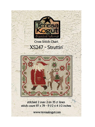 Struttin' - XS247 - Teresa Kogut - Cross Stitch Pattern