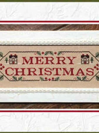 Merry Christmas - County Cottage Needleworks -