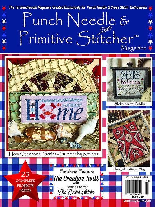 Punch Needle & Primitive Stitcher -Summer Issue