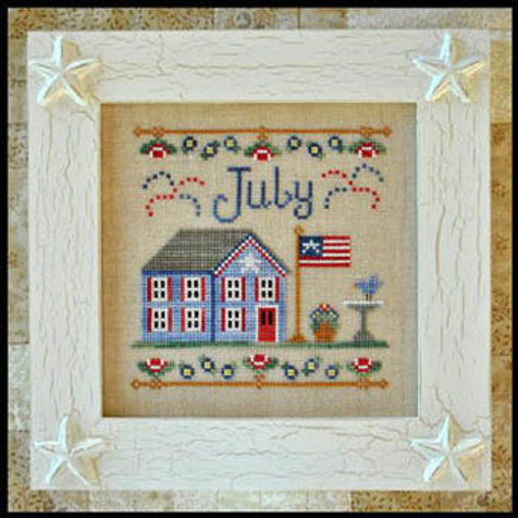 Cottage of the Month July - by Country Cottage Needleworks