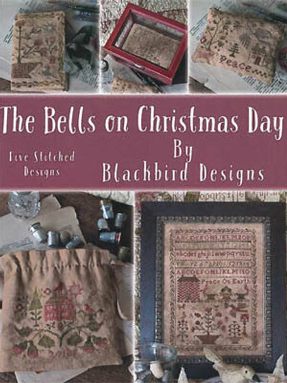The Bells On Christmas Day  (Book) - Blackbird Designs - Cross Stitch Pattern
