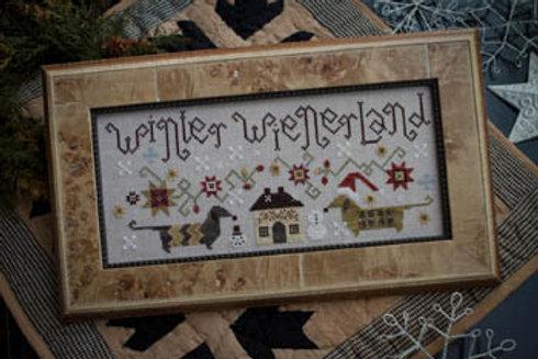 Winter Wienerland - Plum Street Samplers - Cross Stitch Pattern