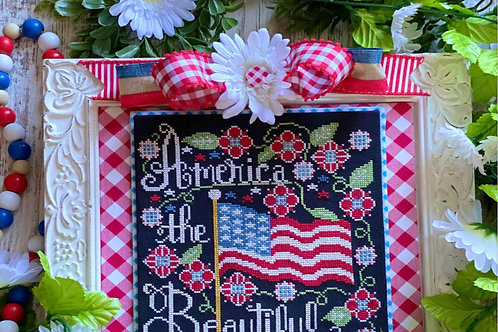 America The Beautiful - by Stitching Stitching with the Housewives